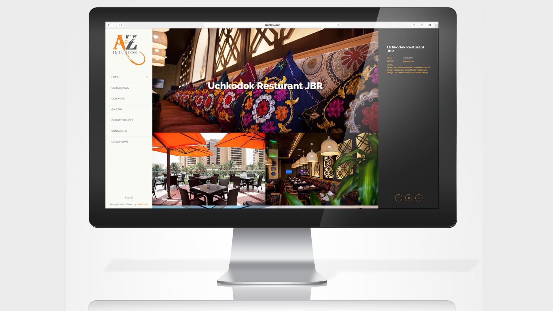 a2z-interiors-website-project