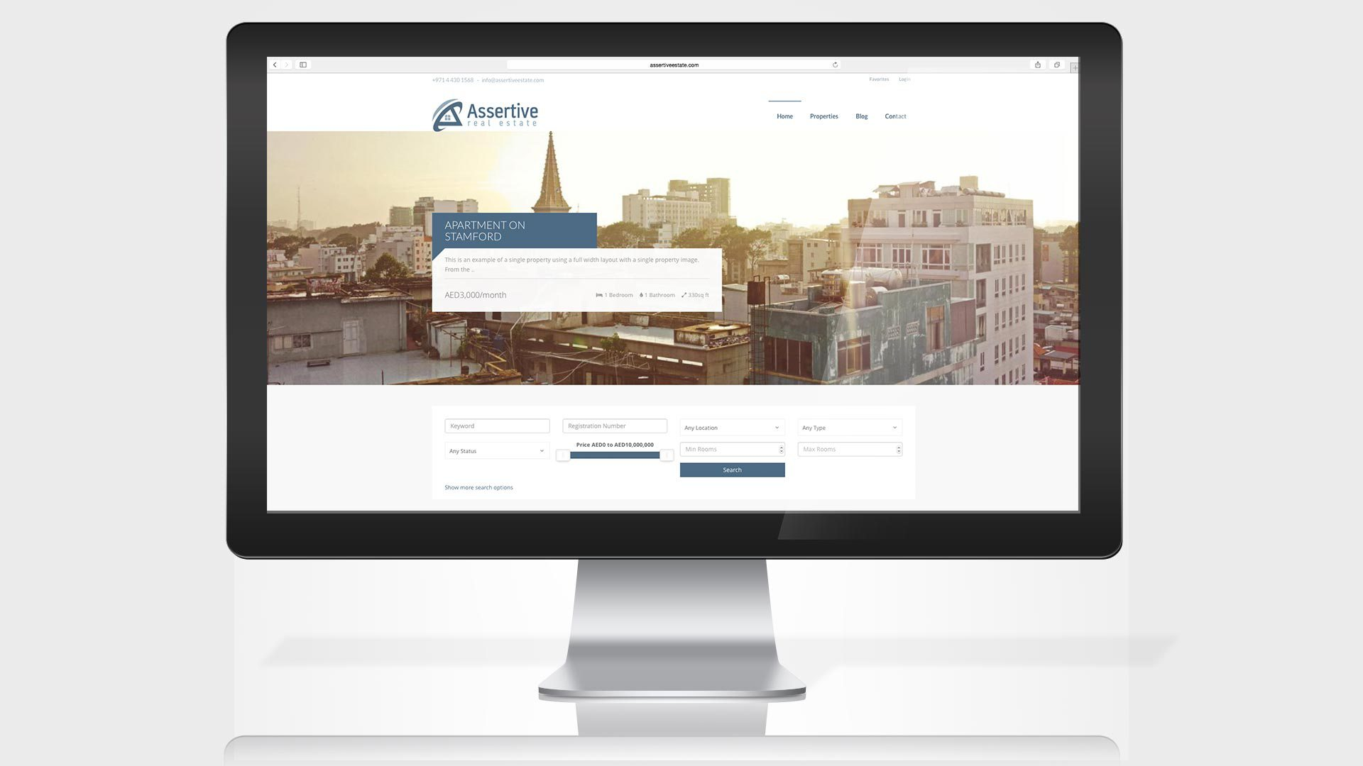 assertive-estate-website-home-page