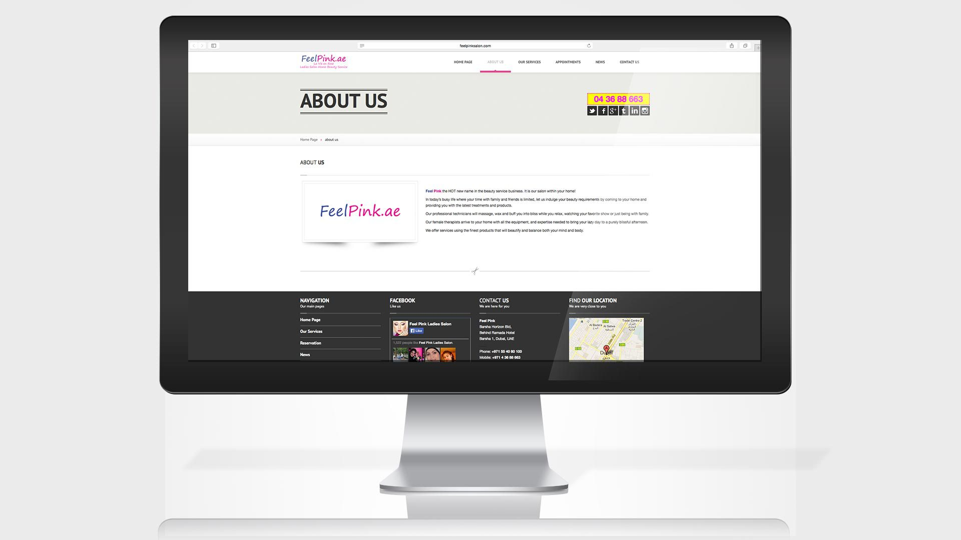 feel-pink-website-about-us-page
