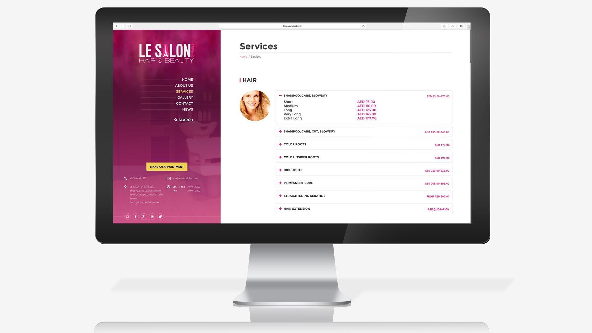 le-salon-website-services