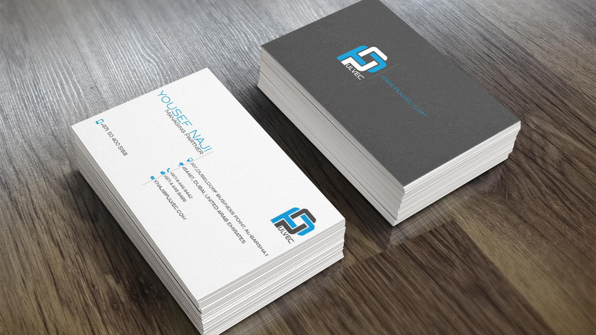 pulvec-contracting-business-cards