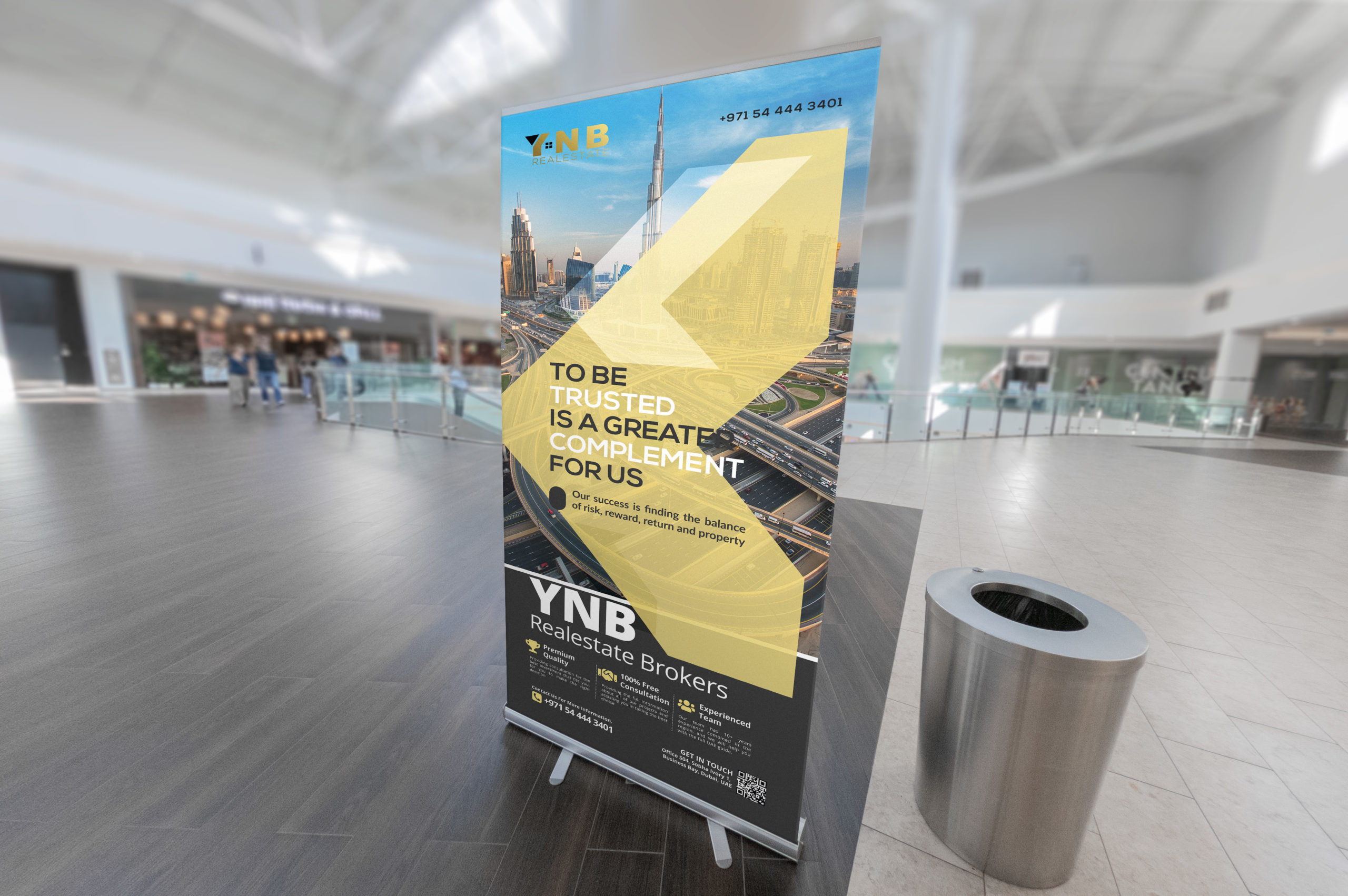 YNB-Realestate-Roll-Up-Banner
